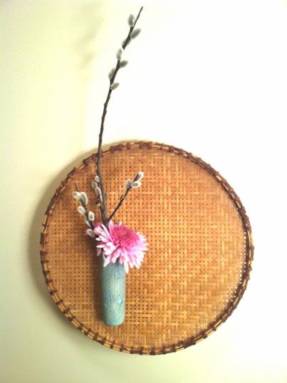 Ikebana Relief Floral Arrangement